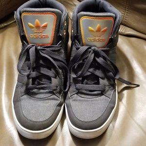 adidas Shoes - Adidas EVH 791004 Grey / Orange Gradient High Tops